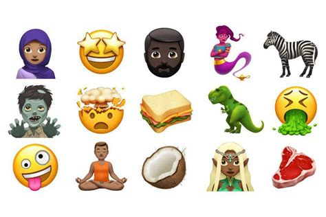 emoji baru iphone pengguna iphone dan ipad kedatangan emoji baru seperti