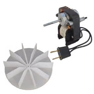 electric fan motor kit w blower wheel 3 16 shaft 120v