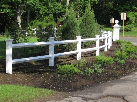 split rail fence bitdigest design how to build a vinyl split rail fence