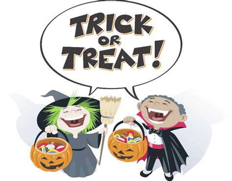Trick Or Treat Graphic 8 trick or treat times announced s defender