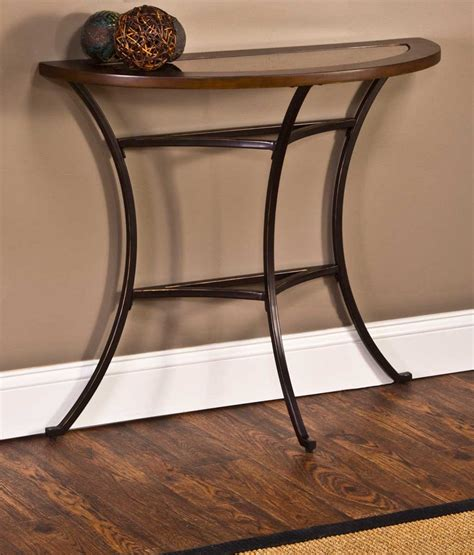 wood metal console table style wood and metal console table console table wood