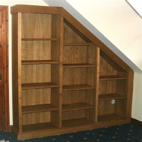 Made Bookcase Bespoke Oak Fitted Bookcase