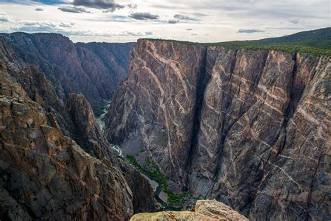 painted wall black canyon the painted wall black canyon of the gunnison national