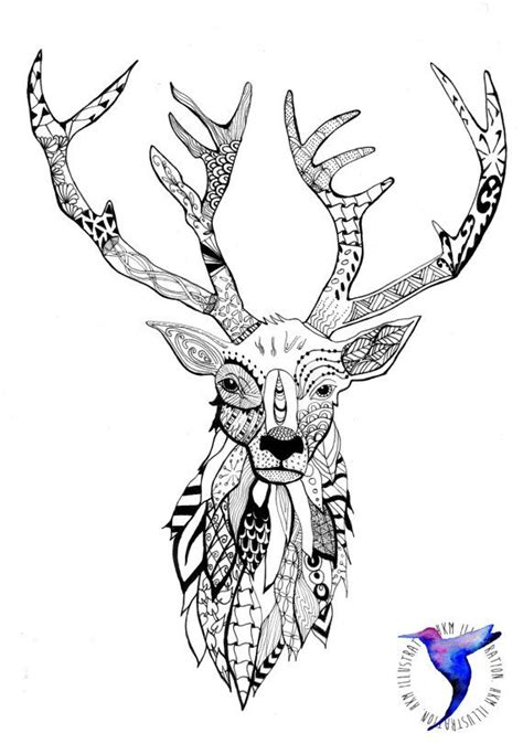 stag head designs 25 unique stag head ideas on pinterest deer head