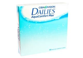 aqua dailies comfort plus 90 focus dailies aqua comfort plus contacts 90 pk by ciba