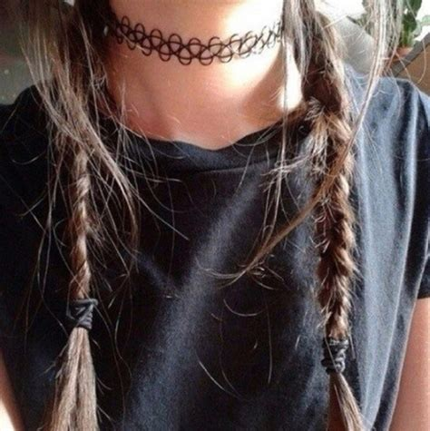 de tattoo choker ketting by caitlin 169