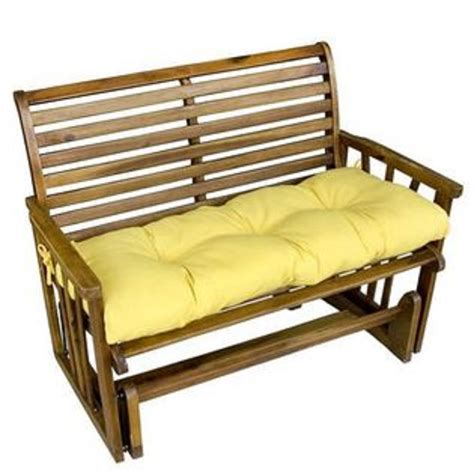 glider bench cushions jordan manufacturing co inc universal park bench swing