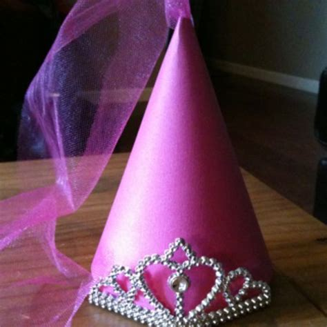 How To Make A Princess Hat Out Of Paper - princess hat pink card stock princess crown