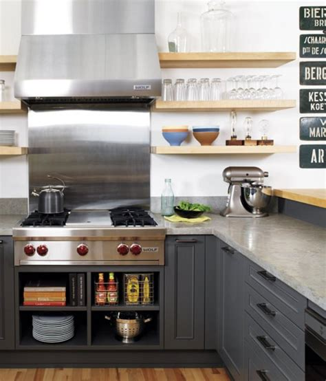 kitchen with shelves 15 beautiful kitchen designs with floating shelves rilane