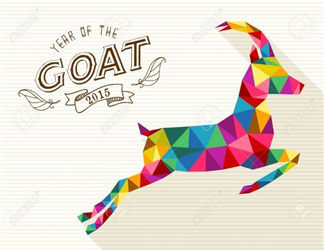 new year 2015 is year of the new year of the goat 2015 colorful hd 13093