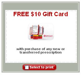 target free 10 gift card for new or transferred prescriptions cha ching on a - Target Pharmacy Coupon Gift Card