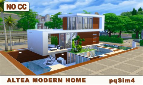 the sims house building modern abode speed build youtube idolza altea modern home sims 4 speed build and download