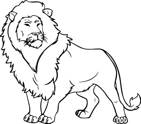 wallpaper singa hitam putih kumpulan gambar mewarnai hewan darat lengkap gambarcoloring