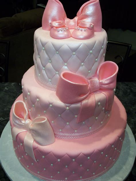 Girl Baby Shower Cakes On Pinterest   Baby Cake ImagesBaby Cake Images