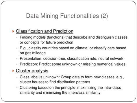 pattern classification techniques in data mining data mining