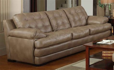 beige leather and loveseat beige bonded leather modern sofa loveseat set w options