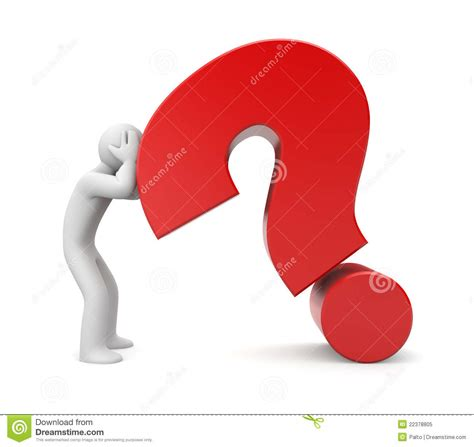 Or Difficult Question Difficult Question Royalty Free Stock Photo Image 22378805