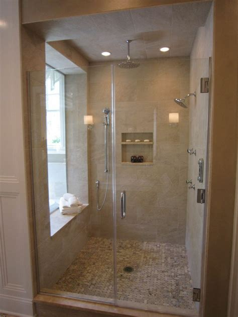 master bath showers master shower with window bathrooms