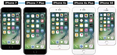 iphone 7 vs iphone 7 plus vs 6s vs se which should you buy
