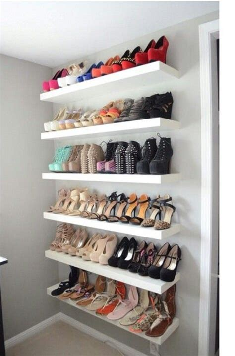 ikea sneaker shelves stylehunter collective diy tricks to clean and store your