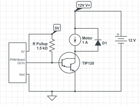 motor capacitor pwm arduino pwm shield with npn transistors electrical engineering stack exchange