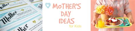 s day suggestions mothers day craft ideas for children