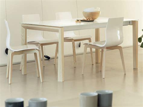 tavolo universe 160 universe 160 legno tavolo domitalia piano vetro legno