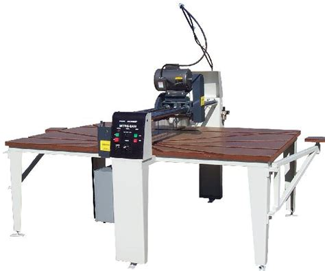 Countertop Saw by Machinery Inc 0710 Automatic Countertop Saw