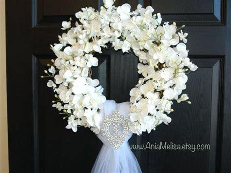 Best 25  Wedding door wreaths ideas on Pinterest   Letter