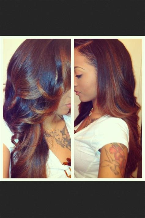 sew in human hair styles 47 best images about cute sew ins on pinterest