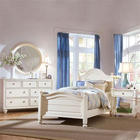 american drew camden light panel bedroom set atg stores