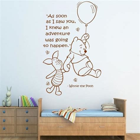 Tokomonster Winnie The Pooh 8 Quote Wall Decal Sticker Size 23 buy wholesale pooh from china pooh
