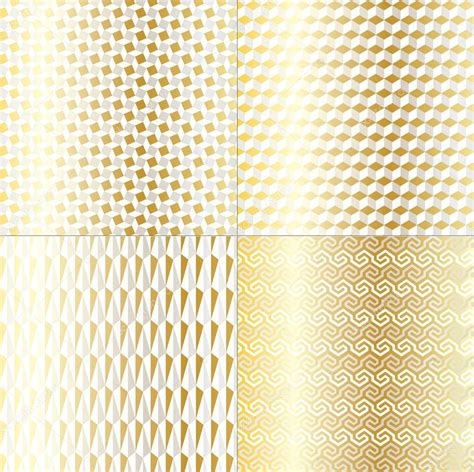 gold pattern for illustrator silver gold geometric patterns stock vector 169 scrapster