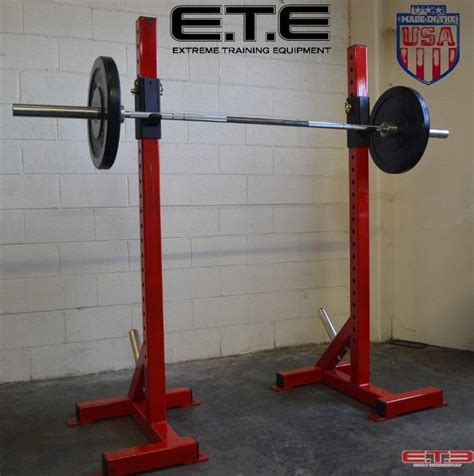 squat and bench press heavy duty squat stands ete heavy duty individual squat