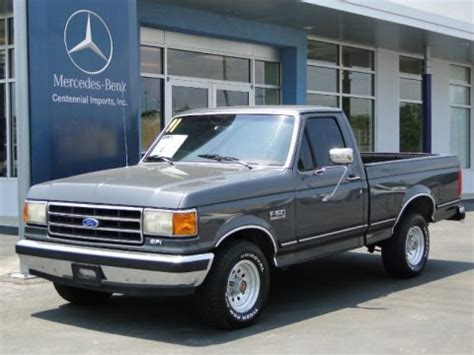 1991 ford f150 xlt regular cab data, info and specs