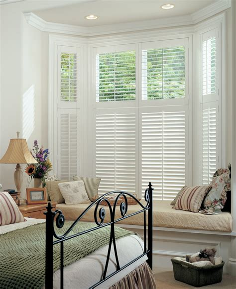 blinds for bedroom windows wooden plantation shutters