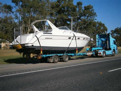 regal boats gold coast see us in action gallery queensland boat transport