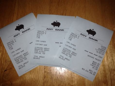 atm receipt template receipt photos we can make you a custom replica
