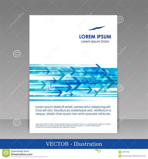 advertising brochure templates free template for advertising brochure royalty free stock