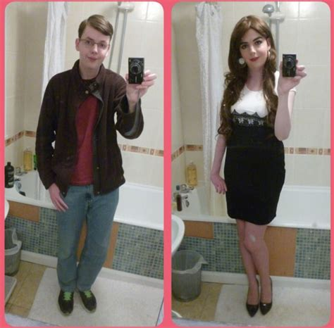 cross dressing makeover in dallas the 1179 best images about before after on pinterest