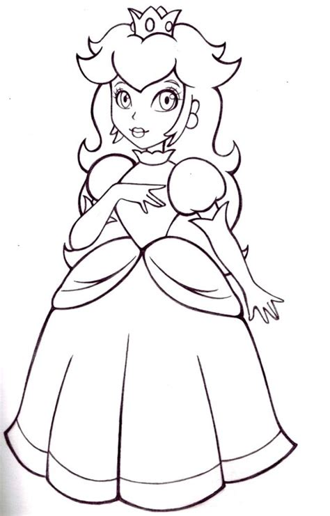 mario coloring pages princess free coloring pages of mario and