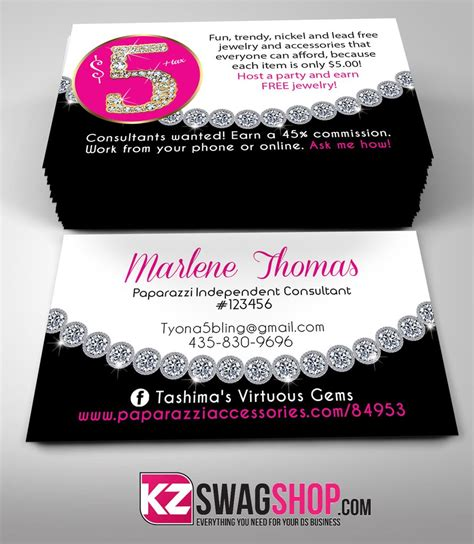 business card jewelry templates 5 bling jewelry business cards style 12 kz swag shop