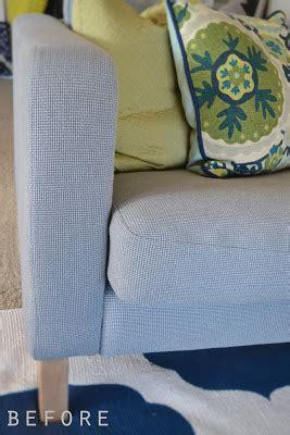 how can i make my sofa higher sarah m dorsey designs karlstad sofa with nailhead trim