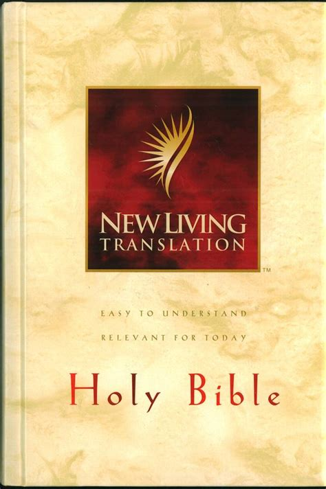 The Living Bible new living translation bible catalog