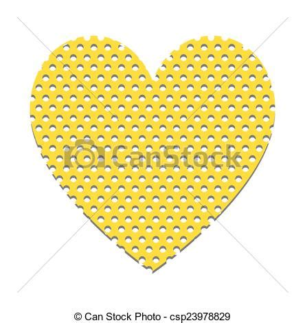 hole pattern en francais vector illustration of holes pattern heart shape retro