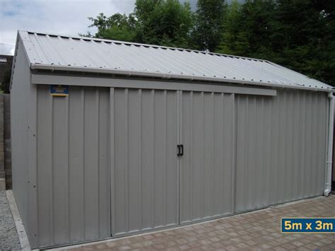Steel Shed Doors by Steel Sheds Insulated Steel Sheds Steel Garden Sheds Sheds Steeltech Sheds