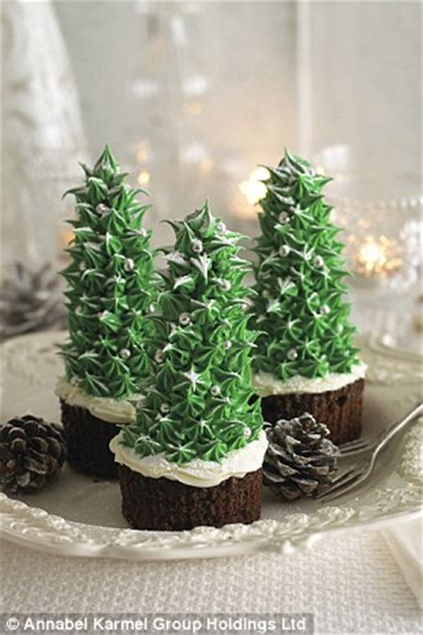 xmas tree made with royal icing festive recipes from top children s chef annabel karmel daily mail