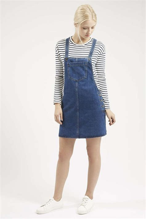 Trends The Pinafore Dress by Moto Denim Pocket Pinafore Dress Topshop Summer And Clothes