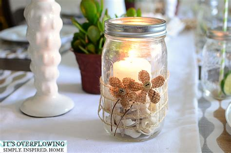 crafts in a jar craft in a jar beachy theme its overflowing