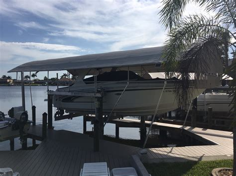 punt boat cover waterway boat lift covers boating 15040 tamiami trl